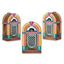 Jukebox Favor Boxes, 3ct