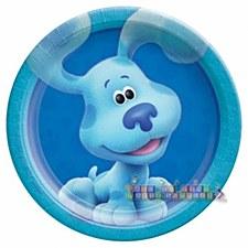"""Blues Clues- Blue 7""""Plates"""