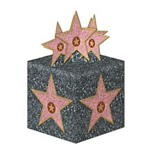 Star  Favor Boxes, 3ct