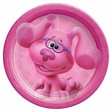 "Blues Clues-Pink 7""Plates"