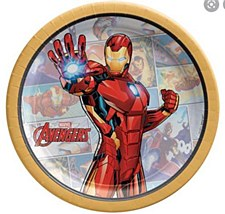 "7""Iron Man Plates"