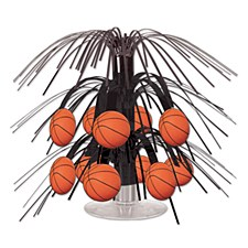 Basketball Mini Cascade Centerpiece