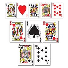 Mini Playing Card Cutouts