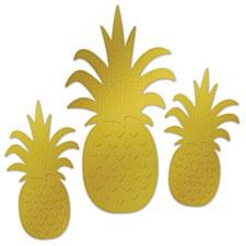 Pineapple Foil Cutouts