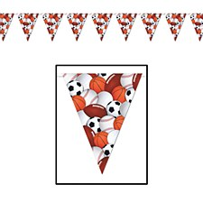 Sports Pennant Banner