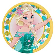 "Frozen Fever 9""Plates"