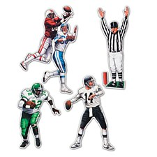 Football Figures Cutout