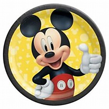 """Mickey Mouse Forever 9""""Plates"""