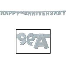 Foil Happy Anniversary Streame