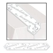 Printed Congratulations Table