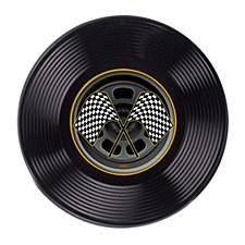 Plastic Racing Tire