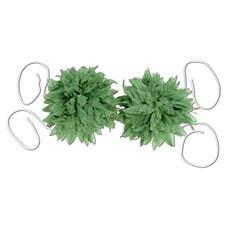Tropical Fern Leaf Bikini Top