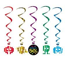 80's Icons Whirls, 5ct