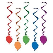 Balloon Whirls, 5ct