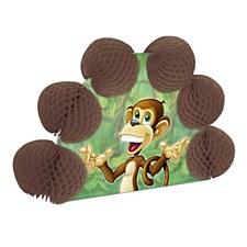 Monkey Pop-Over Centerpiece