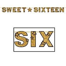 Glittered Sweet Sixteen Awards