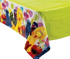 Sesame Street Party Table Cover