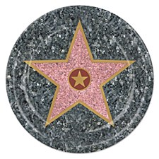 """9"""" Star Lunch Plates, 8ct"""