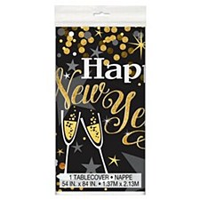 Glitttering New Year Tablecover