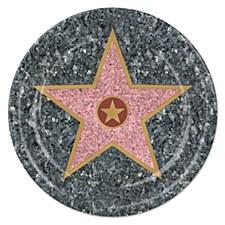 "7"" Star Dessert Plates, 8ct"