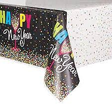 Confetti New Year Tablecover