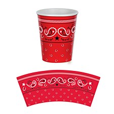 Bandana Beverage Cups