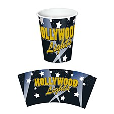 Hollywood Lights Beverage Cups, 8ct