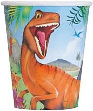 Dinosaur 9oz Cups