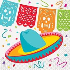 Mexican Fiesta Lunch Napkins