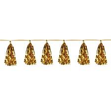 Gold Metallic Tassel Garland