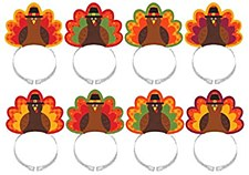 Turkey Headbands Amscan 310154