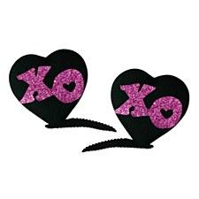 XOXO Hair Clips