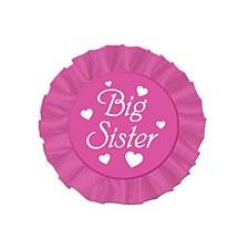 Big Sister Satin Button
