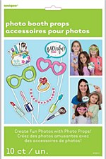 Spa Party Photo Booth Props
