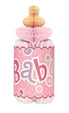 Pink Dots Baby Shower Honeycomb