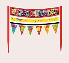 Birthday Confetti Cake Banner