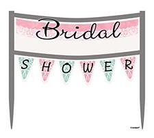 Bridal Shower Cake Banner