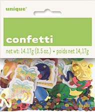 Presents & Balloon Printed & Foil Confetti 0.5 oz.
