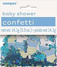 Blue Dots Baby Shower Confetti .5 oz.