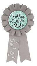 Father of the Bride Award Ribbon