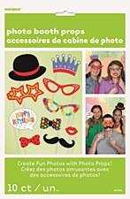 Confetti Birthday Photo Booth Props 10ct
