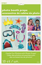 Under the Sea Photo Booth Props 10ct