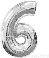"""""""6"""" Mylar Silver"""