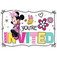 Minnie Mouse Invitation Cards