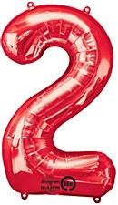 """""""2"""" RED MYLAR"""