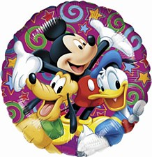 18' MICKEY AND FRIENDS