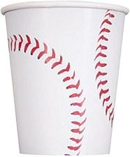 Baseball 9oz. Cups