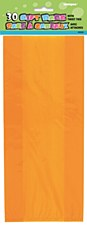 30 Orange Cello Bags