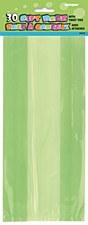 30 Lime Gree Cello Bags