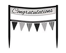Congratulations  Cake Banner
